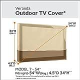 Classic Accessories Veranda Outdoor TV Cover For 54