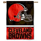 Cleveland Browns Two Sided House Flag