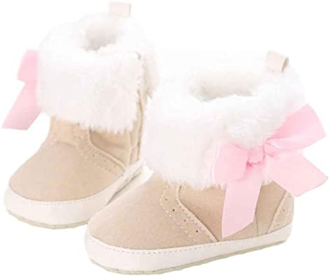 Keep Warm Infant Toddler Soft Sole Snow Boots Baby Boy Girl Crib Shoes Amiley Baby Boots