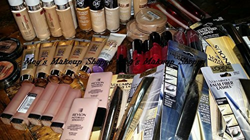 Wholesale Makeup Assorted Lot (100 Piece Set) ~ L'oreal Maybelline Covergirl Sally Hansen Almay Revlon & More Name Brand Cosmetics