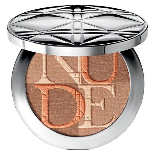 (Dior Diorskin Nude Shimmer Blusher Amber 002 - Pack of 2)