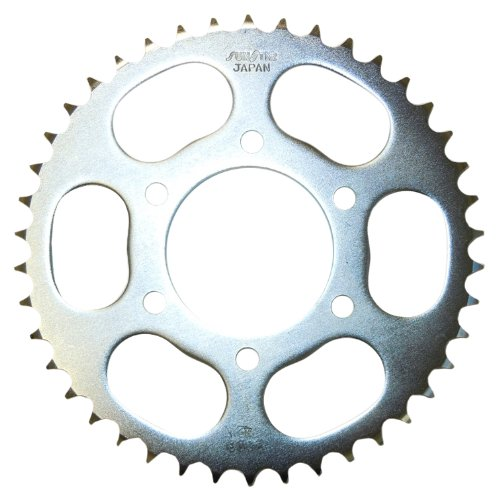 (Sunstar 2-210342 42-Teeth 428 Chain Size Rear Steel Sprocket )