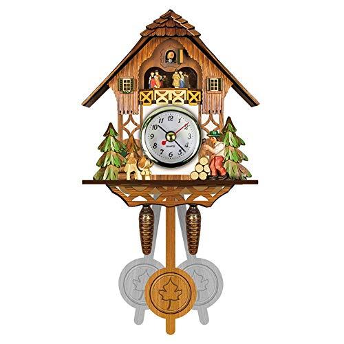 Vintage Cuckoo Clocks - Cuckoo Clocks Mini Wall Clocks Nordic Classical Bird Time Bell Decorations Home Vintage Wall Art For Kitchen