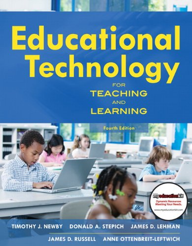 Educational Technology for Teaching and Learning (4th Edition)