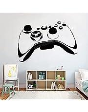 AiEnmaw Ps4 TV-spelkontroll väggdekal lekrum barnrum dekor väggklistermärke X-box heminredning dekaler avtagbara vinyldekaler 94 x 57 cm
