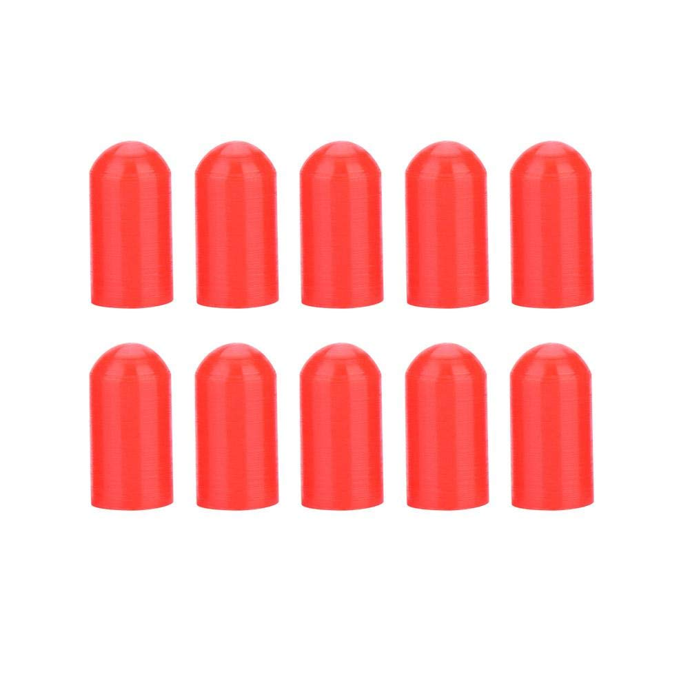 10 Pcs Drumstick Silent Tip, Drumstick Tips Silicone (Black) Dilwe Dilwerpong4y650-01