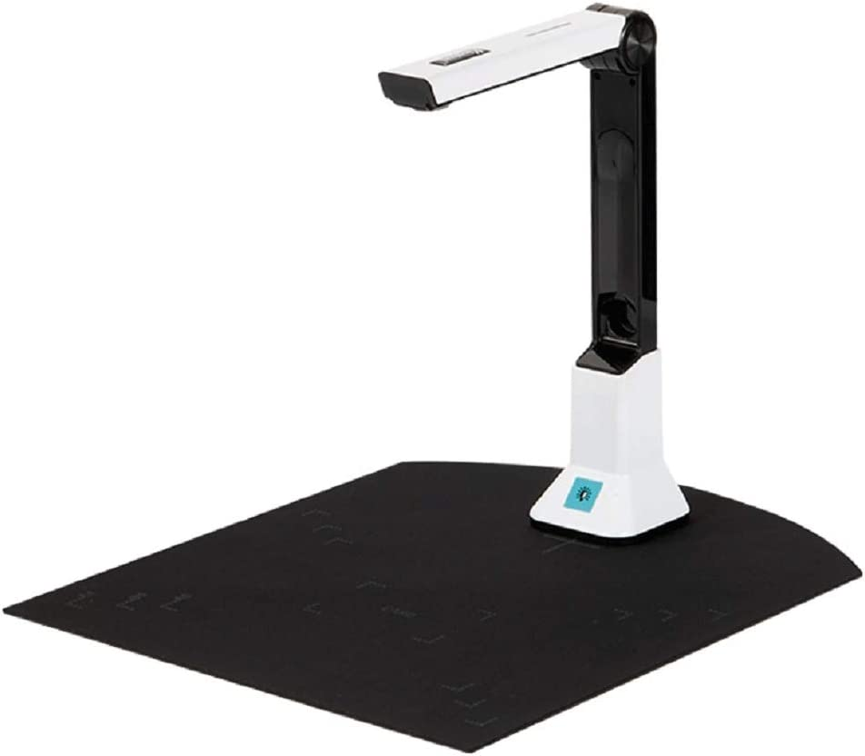 Document Camera, Ultra High Definition USB Portable A4 Scanner Office Classrooms with Real-time Projection Video Recording Versatility A4 Format, OCR Multi-Language Recognition,etc