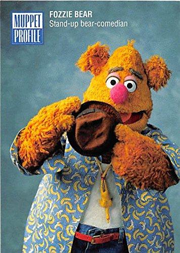 Fozzie Bear Muppets trading card 1993 JH #30 - Fozzie Bear Muppets