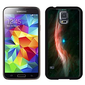 NEW Fashion Custom Designed Cover Case For Samsung Galaxy S5 I9600 G900a G900v G900p G900t G900w Space Waves Black Phone Case