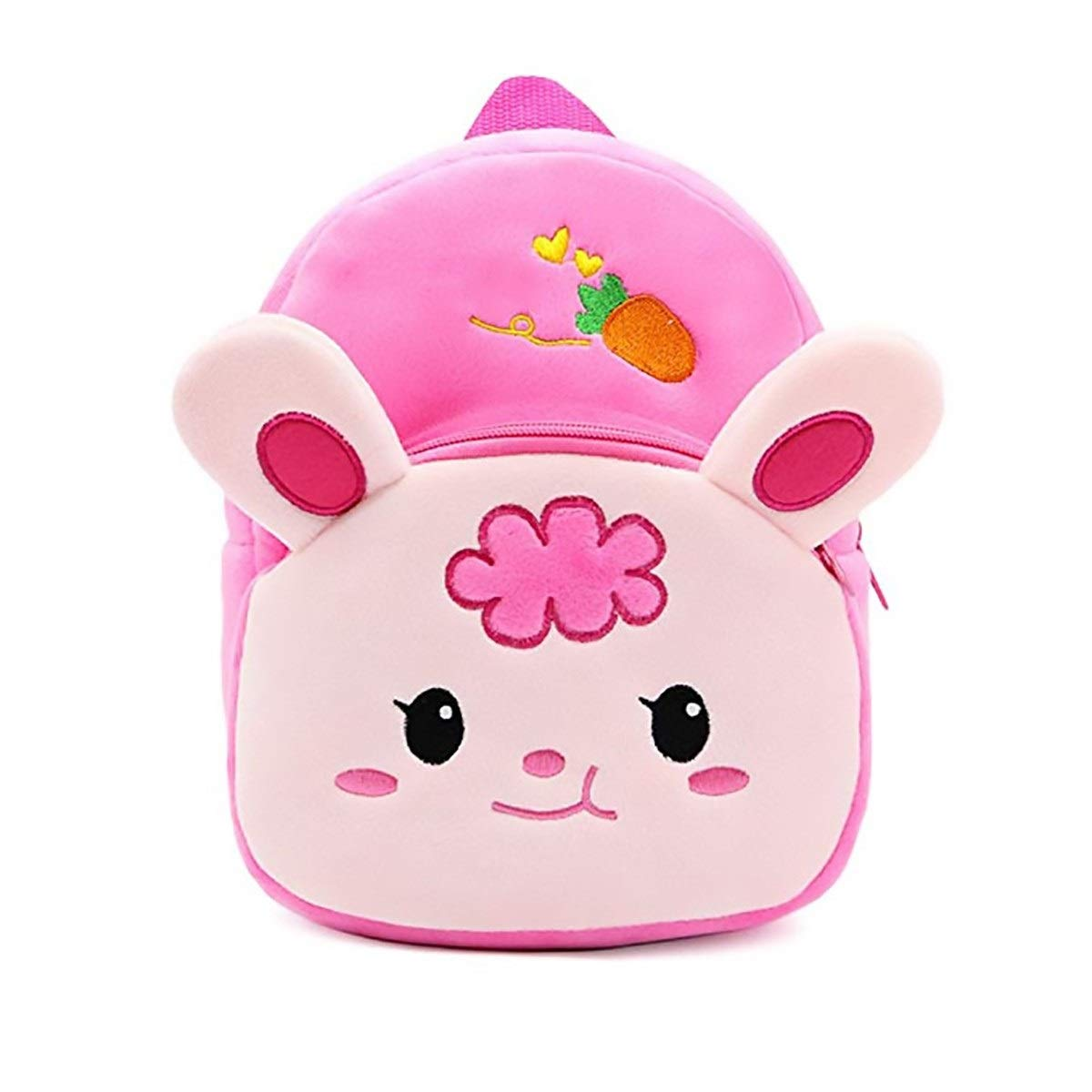 JLL Fashion Cute 1-6 Years Old Animal Bag Kindergarten Men and Women Mini Cartoon Travel Bag Baby Creative Trend Baby Backpack