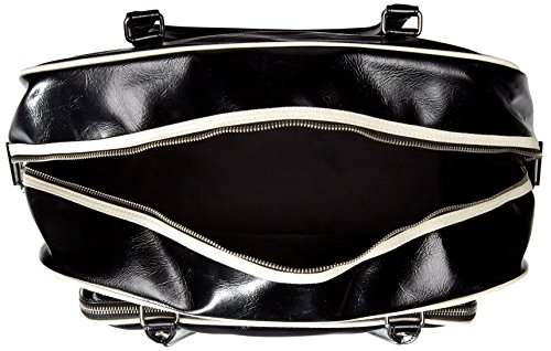 BOLSO FRED PERRY negro