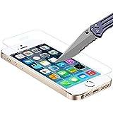 Protection écran iPhone SE - Film Protection en Verre Trempé [0,3mm et Ultra Résistant] Ultra Clair pour iPhone SE / iPhone 5S / iPhone 5C / iPhone 5