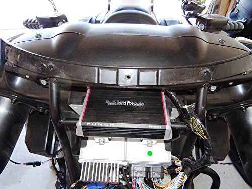 Kawasaki Vulcan Vaquero and Voyager Amp Mount Rockford Fosgate PBR400X4D Amp or Pbr300x2 or Pbr300x4