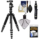 """Davis & Sanford Traverse 53"""" Compact Folding Tripod with PB228-10 Ball Head & Case with Cleaning & Accessory Kit"""