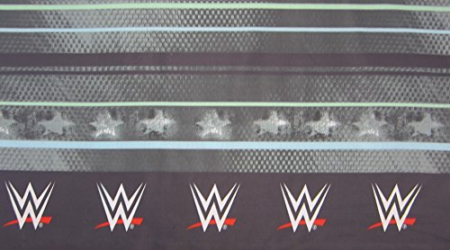 WWE Industrial Strength 55% Cotton (FLAT SHEET ONLY) Size TWIN Boys Girls Kids Bedding by Franco Manufacturing