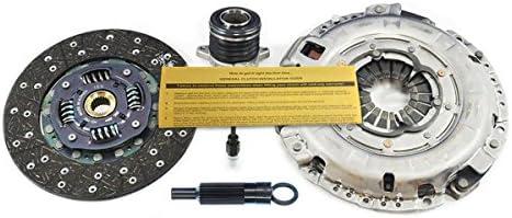Valeo HD Kit de embrague w/esclavo cilindros para 2013 – 2014 Hyundai Genesis Coupe (3,8 L) 6 cilindros