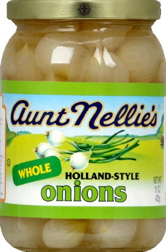 a58e113f0018 Amazon.com : Aunt Nellie's Whole holland-style Onions 15 OZ (Pack of ...