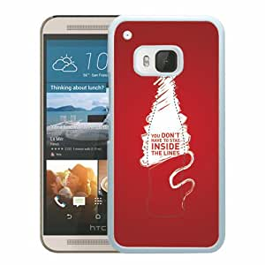 Unique HTC ONE M9 Coca Cola4 White Screen Phone Case Luxury and Cool Design