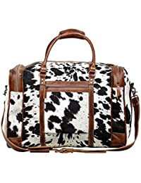 Grand Cowhide Leather Travel Bag S-1124