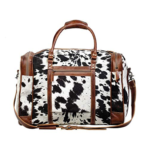 Myra Bag Grand Cowhide Leather Travel Bag ()