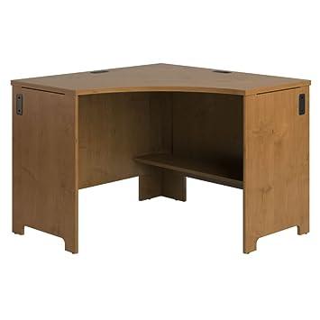 bush business furniture office connect envoy collection corner desk bush office furniture amazon