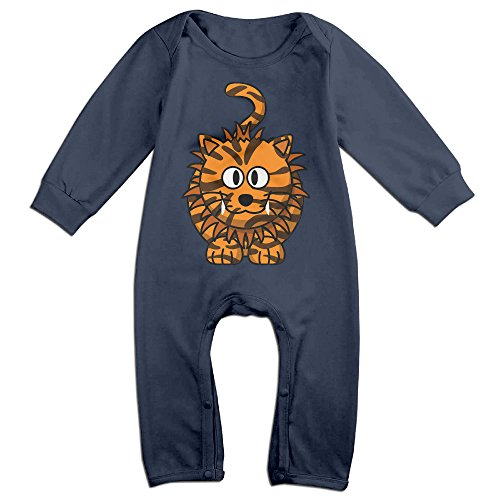 VanillaBubble Weird Tiger For 6-24 Months Baby Awesome Tshirt Navy Size 12 Months (Disney Infinity Pikachu)
