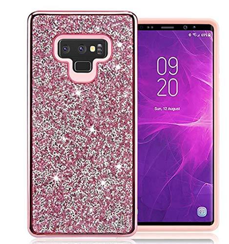 Samsung Galaxy Note 9 Case Sparkly Glitter,Lozeguyc