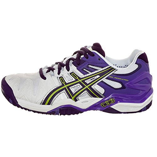 Asics - Gel-Resolution 5 Clay Damen Tennisschuh weiß