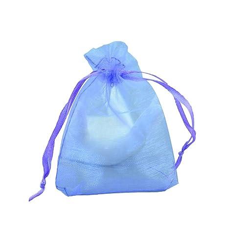 Topxingch 100 bolsas de malla con cordón para galletas ...