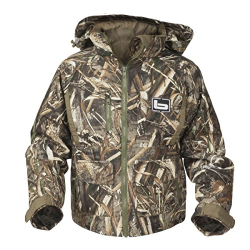 Banded White River Wader Jacket, Max, Youth Med - White Waders