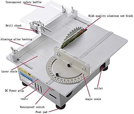 YONGTOKU Mini Sierra de mesa hecha a mano de la carpintería de ...
