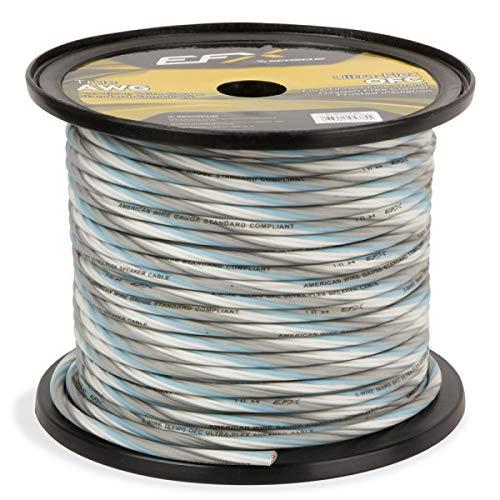 SCOSCHE EFXS5WC18-250 250 Foot Ultra-Flex 2-Channel Speaker Wire with Remote Turn-On