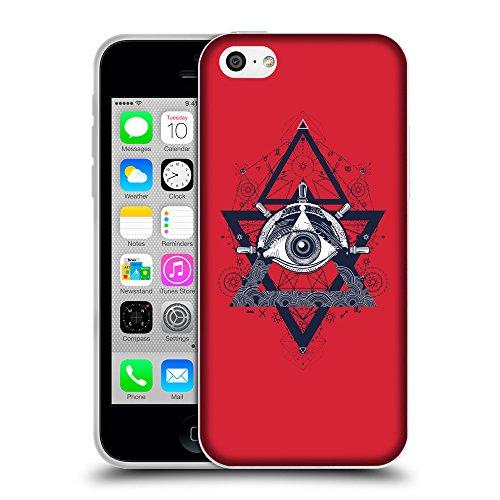 GoGoMobile Coque de Protection TPU Silicone Case pour // Q08540601 Religion 18 Alizarine // Apple iPhone 5C