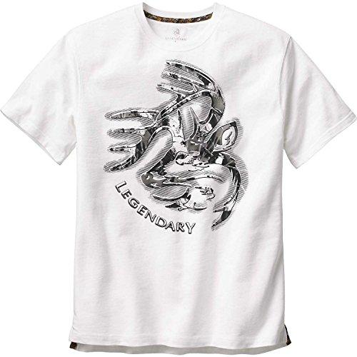 Legendary Whitetails Men's Signature Series T-Shirt White X-Large