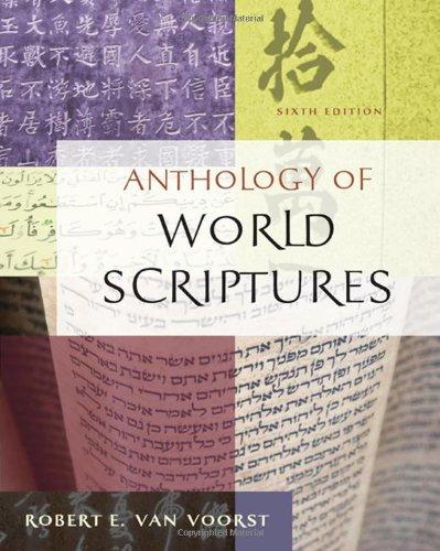 Anthology of world scriptures van voorst