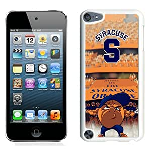 Hot Sale And Popular iPod Touch 5 Case Designed With syracuse mascot White iPod Touch 5 Phone Case