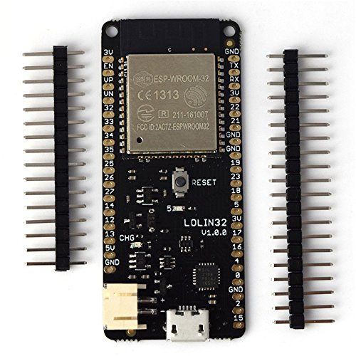 Diymore 4 MB Flash WEMOS D1 Lolin32 V1.0.0 WIFI Bluetooth Development Board Based on ESP32 ESP WROOM 32 Dual Core Mode CPU