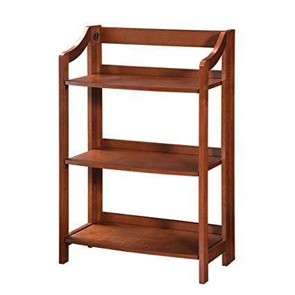 Bookcases Three Layer Bookshelf Living Room Shelf Creative Home Decoration  Frame Kitchen Bathroom Shelf Folding