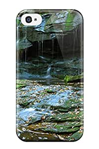 Best durable Protection Case Cover For Iphone 4/4s(earth Waterfall)