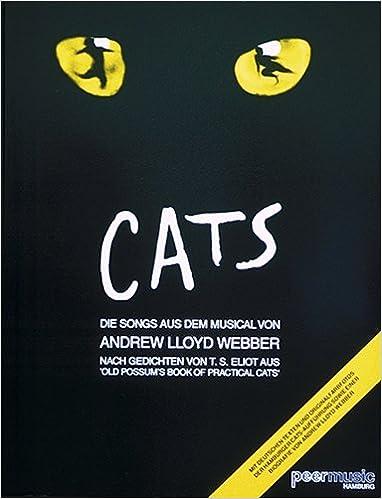 Cats Songbook - Gesang Klavier (Noten)