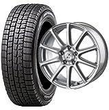 スタッドレスタイヤ185/65R15・ホイール1本セット 15インチ DUNLOP(ダンロップ) ウィンターマックスWM-01 185/65R15 88Q + INTER MILANO ゼファー BT10 (BEST) 1560 5H100 +45