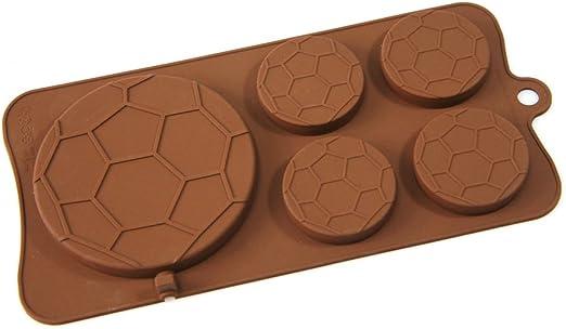Fútbol balón de fútbol forma de piruleta para Chocolate Candy ...