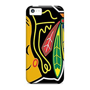 Protector Hard Phone Case For Iphone 5c (VLP9829jqgl) Custom Lifelike Chicago Blackhawks Pictures