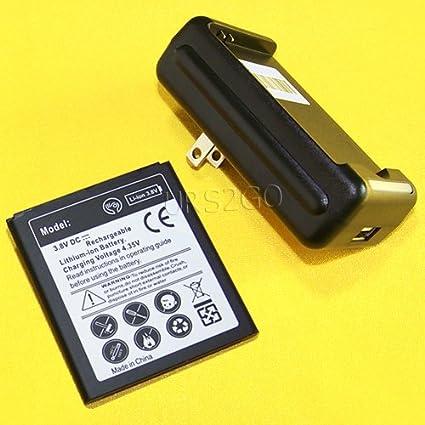 Amazon.com: Batería Recargable de litio-ión [Samsung Galaxy ...
