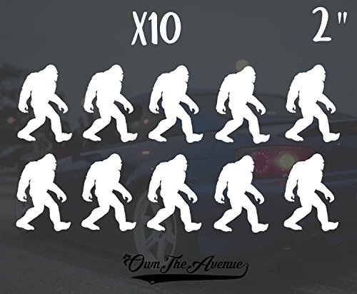 OwnTheAvenue x10 Sasquatch Big Foot Sticker Decal - 2