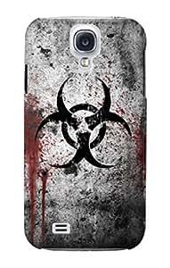 E2440 Biohazards Biological Hazard Funda Carcasa Case para Samsung Galaxy S4