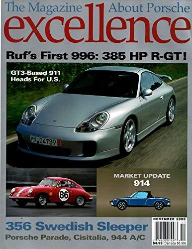 Excellence, The Magazine about Porsche, November 2000 (No 97)