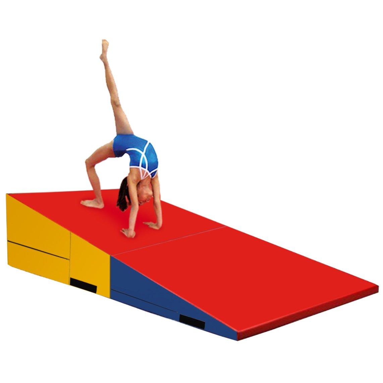 mats com folding green amazon and fitness tumbling blue incline mat gym outdoors wedge sports gymnastics dp giantex