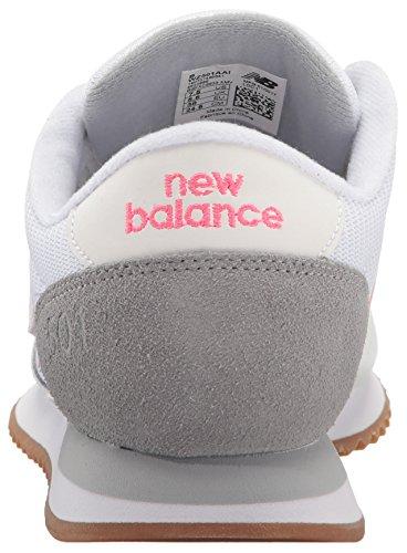 New Balance Femmes 501 Style De Mode Sneaker Blanc / Acier