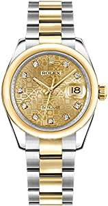 Rolex Lady-Datejust 178243 Jubilee Champagne Dial 31mm Luxury Watch